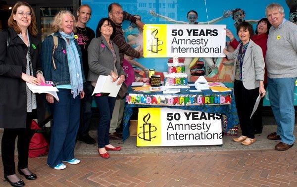 Amnesty Bournemouth Square