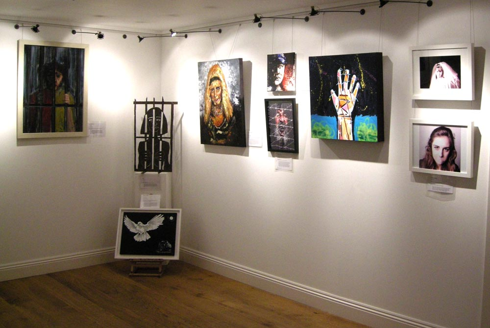 human rights art exhibition