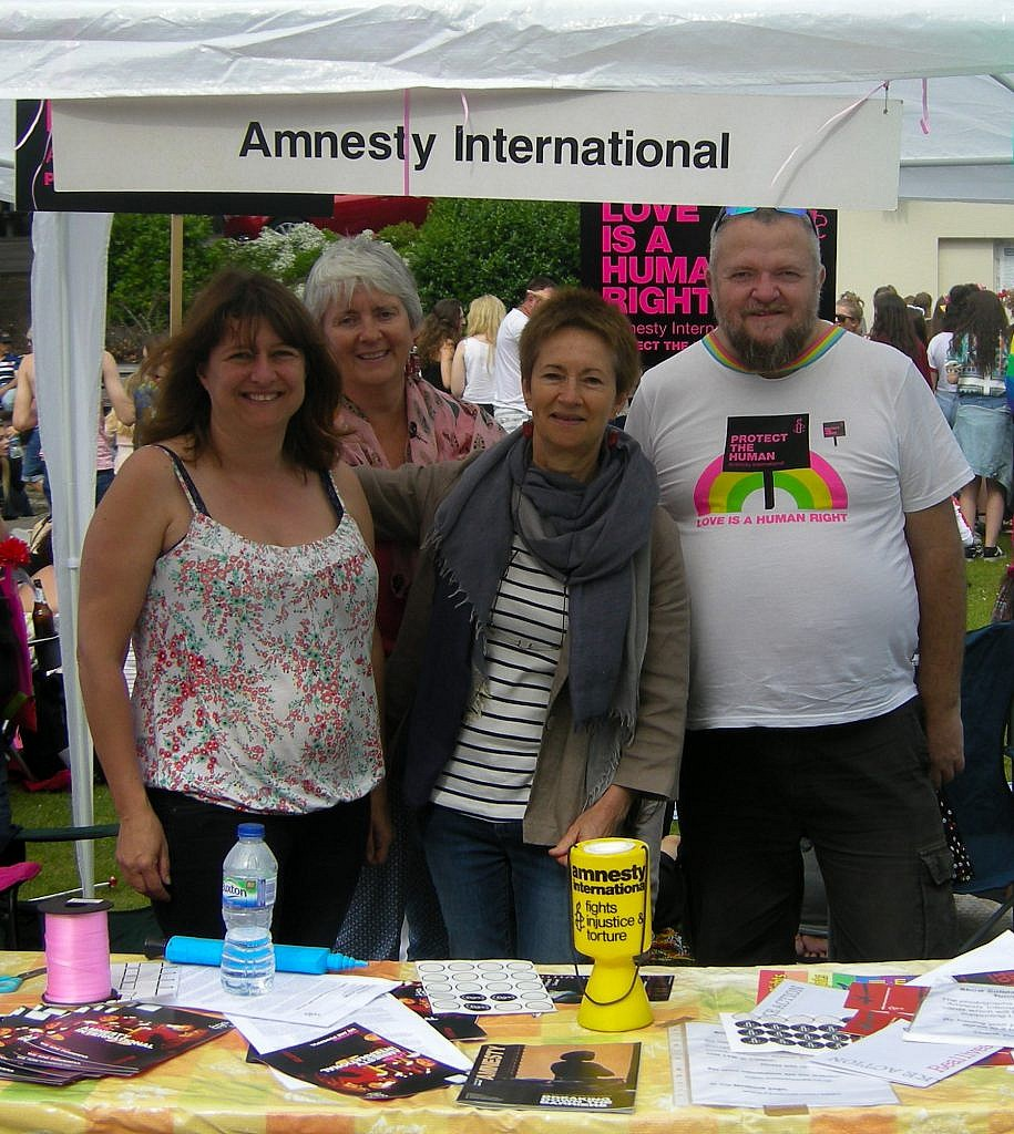 amnesty international at bourne free