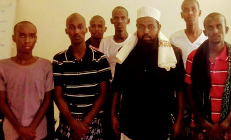 The seven teenagers sentenced to death in Puntland; five have been executed