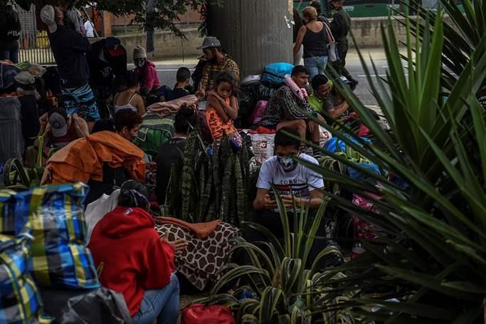 Venezuelan refugees and migrants