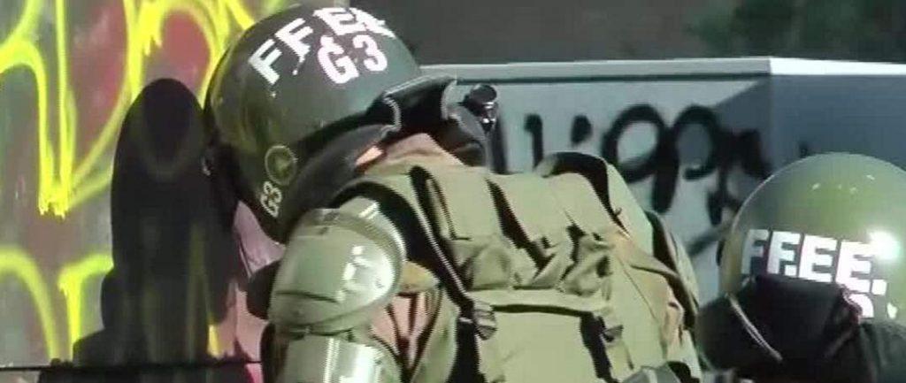 repression of protests