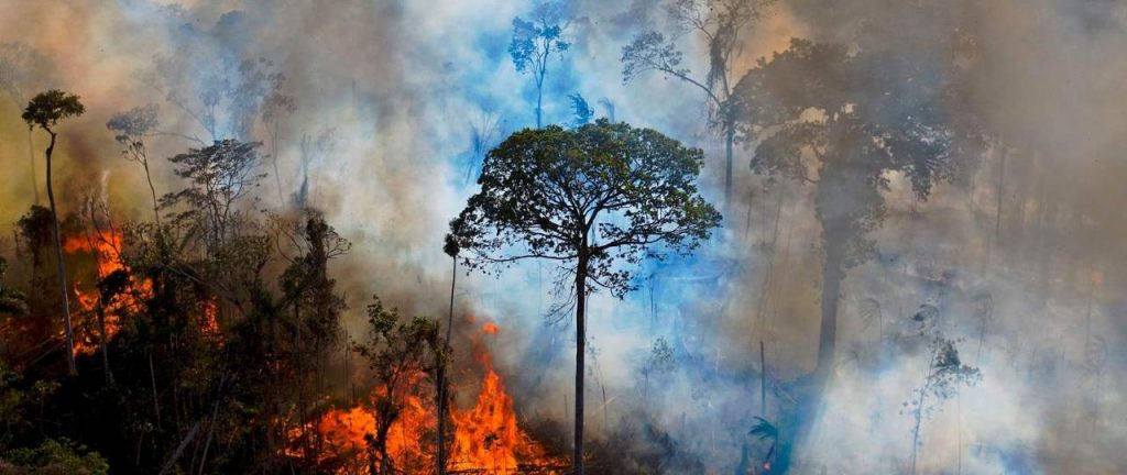 alarming spate of fires in the Amazon