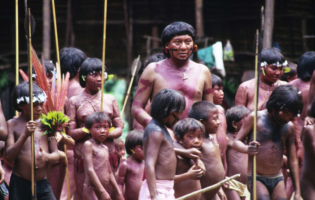 Brazil's Yanomani people